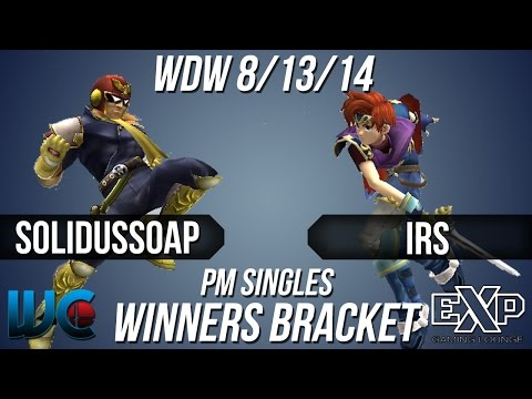 WDW 8/13/14 - SolidusSoap (Falcon) vs. IRS...