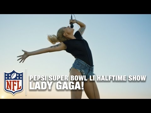 "Lady Gaga ""Perfect Illusion"" NFL Mashup | Pepsi Super Bowl LI Halftime Show Announcement!"