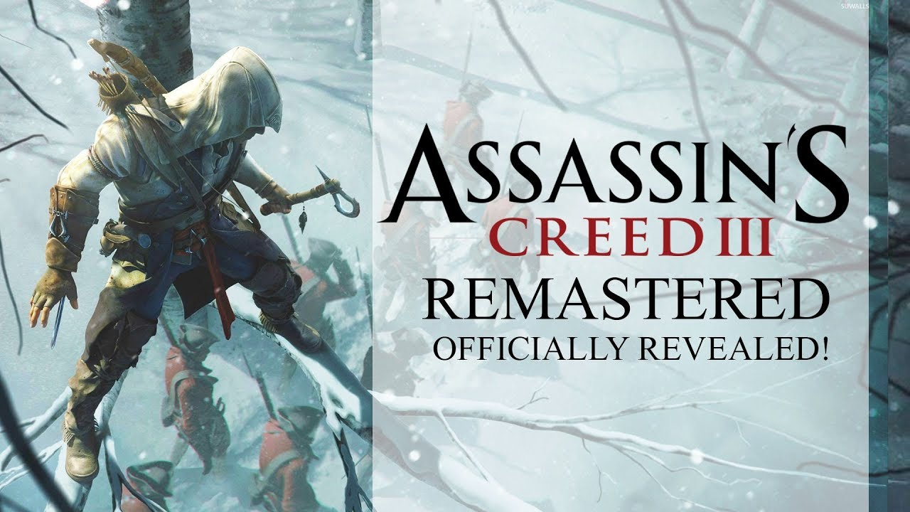 Assassin S Creed 3 Remastered Officially Revealed Coming To Ac