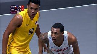 Semifinal Highlights: Philippines Vs Thailand | 3x3 Basketball M | 2019 Sea Games