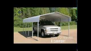 Kroftman carport installation