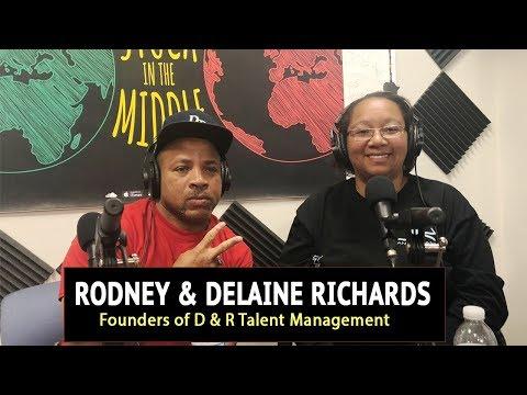 Delaine & Rodney Richards talk D&R Talent Management, Young Artists + More