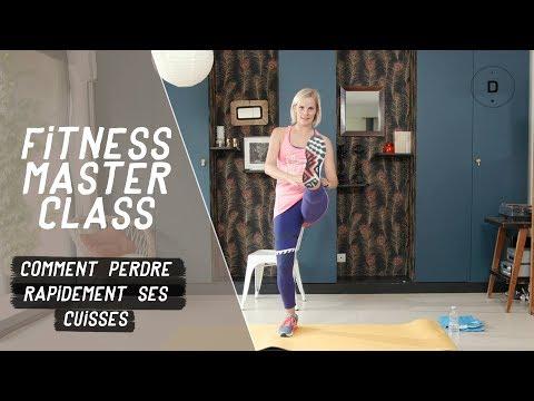 Comment affiner rapidement ses cuisses ? (20 min) - Fitness Master Class