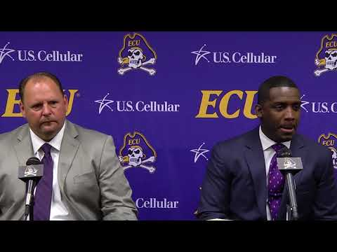 ECU Head Coach Scottie Montgomery introduces Defensive Coordinator David Blackwell