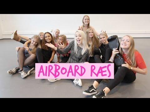 ♡ AIRBOARD RÆS // Ft. Gymnasie Veninder og Carsten ♡