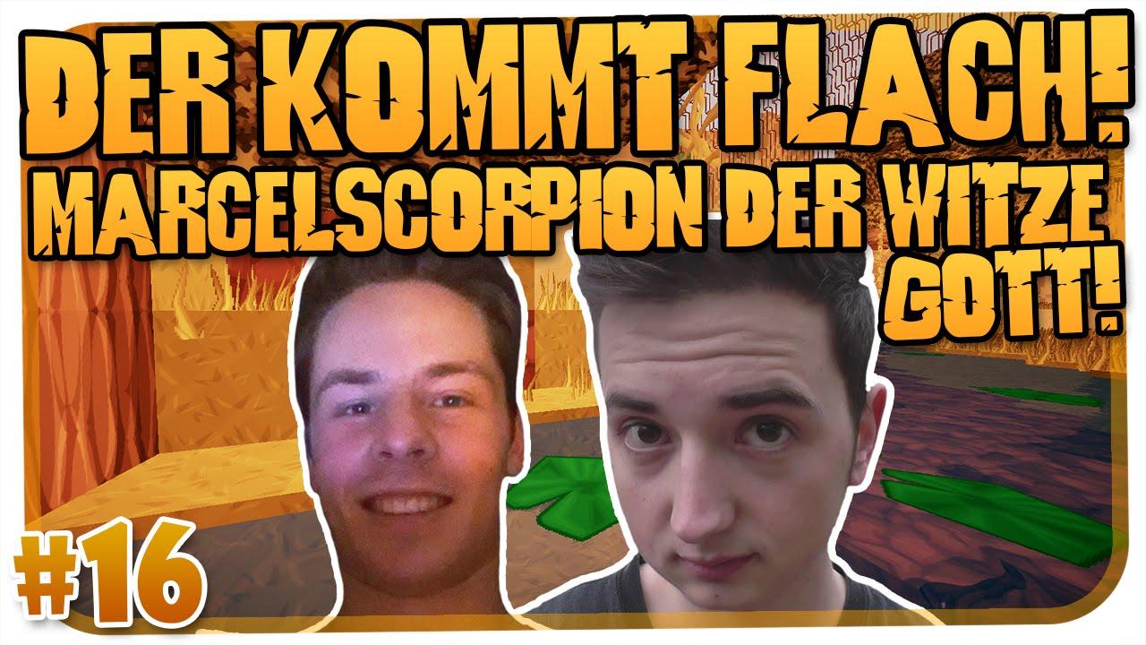 Der Kommt Flach : der kommt flach 16 marcel scorpion der witze gott minecraft hd youtube ~ Watch28wear.com Haus und Dekorationen