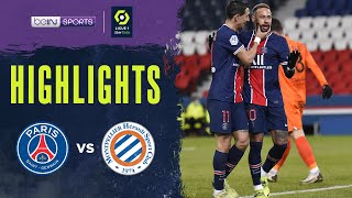 PSG 4-0 Montpellier | Ligue 1 20/21 Match Highlights