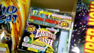 TNT fireworks Big Timer assortment contents review