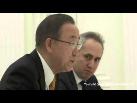 Ukraine crisis: UN chief Ban Ki-moon's 'deep concern'