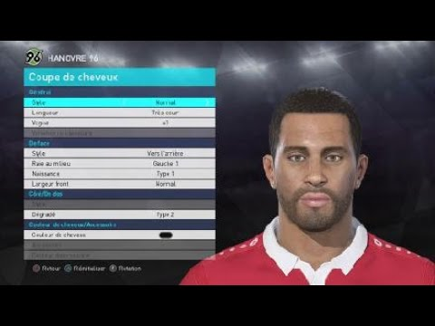 [PES 2018] HANNOVER 96 players face & hair + new players