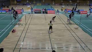 2017年 第18回全国ABC大会 Bグループ女子 決勝トーナメント準々決勝...