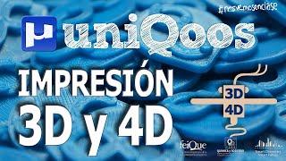 Impresión 3D y 4D, otra dimensión