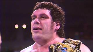 "André the Giant theme song ""The Eighth Wonder"" by Jim Johnston"