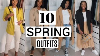 10 SPRING OUTFITS | ZARA TOPSHOP NEWLOOK
