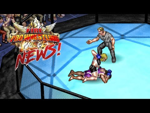 Fire Pro Wrestling World | News - Game Modes, Create Modes & More!!