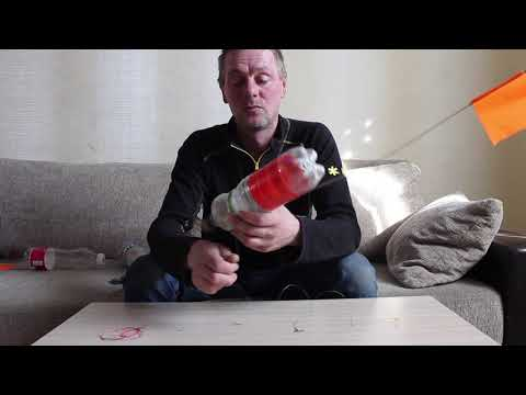 Бутылка на щуку с сигнализатором поклёвки. Ловля щуки на бутылку.