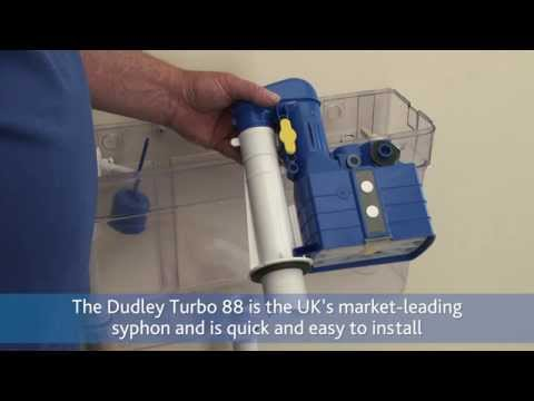 How to install a Dudley Turbo 88 Syphon