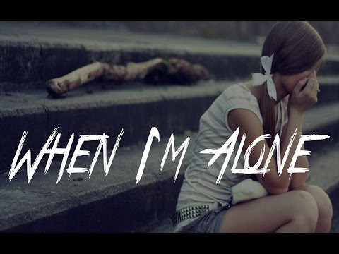 WHEN I'M ALONE - Heartbreaking Sad Emotional Piano Rap Beat   Crying Hiphop Instrumental