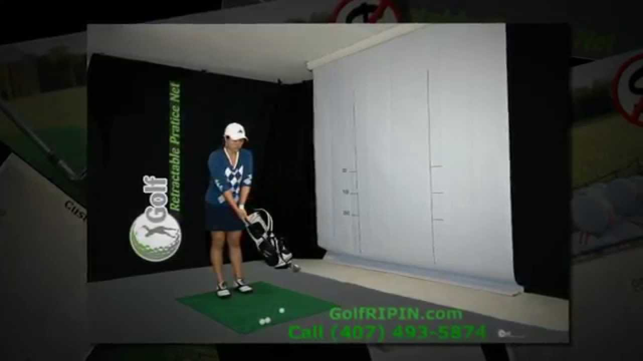 Indoor Golf Practice Net - Training Tool & Aid | Golf RIPIN .com ...