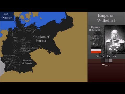 The History of German Empire : Every Month