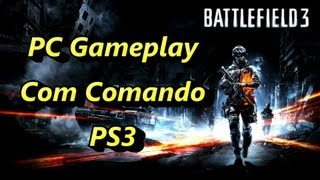 BF3 em PC com Comando da PS3