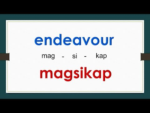 English Tagalog, Formal Words # 106 ( Advanced Vocabulary)