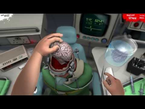 SURGEON SIMULATOR 2013 - Brain Transplant w/ Razer Hydra