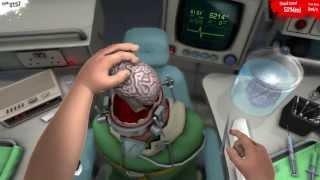 Surgeon Simulator 2013 - Brain Transplant with Razer Hydra