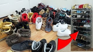REVIEW | 10 Tier Shoe Rack (50 Pairs)
