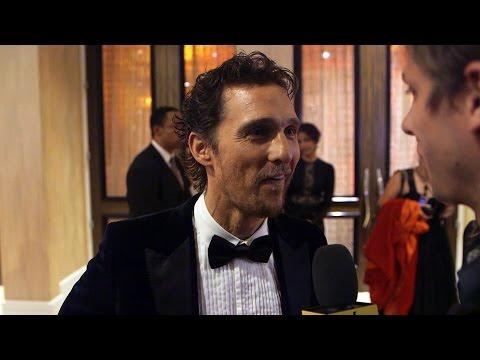 Matthew McConaughey Talks Childhood Heroes
