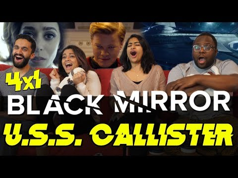 Download Youtube: Black Mirror - 4x1 USS Callister - Group Reaction