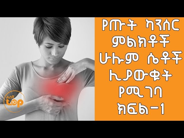 Early Breast Cancer Symptoms
