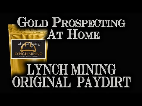 Gold Prospecting at Home #6 - Lynch Mining - Original Paydirt