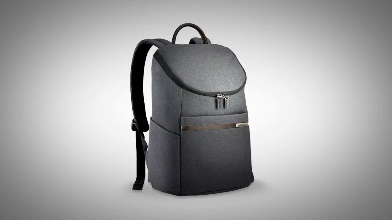 Small Wide Mouth Backpack - From the Kinzie Street Collection - YouTube