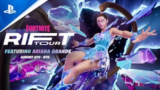 Fortnite | Rift Tour Featuring Ariana Grande Teaser Trailer | PS5, PS4