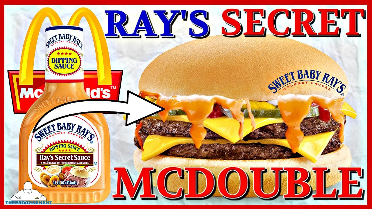 mcdonald s ray s secret mcdouble review secret menu youtube