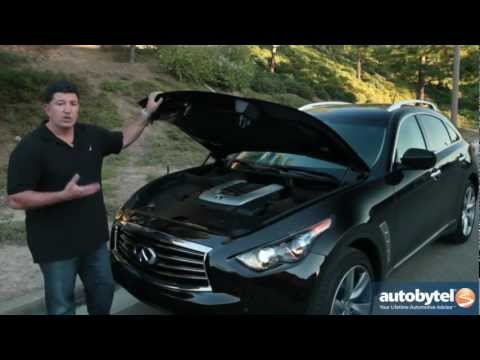 2013 Infiniti FX50 Test Drive & Luxury Crossover Video Review
