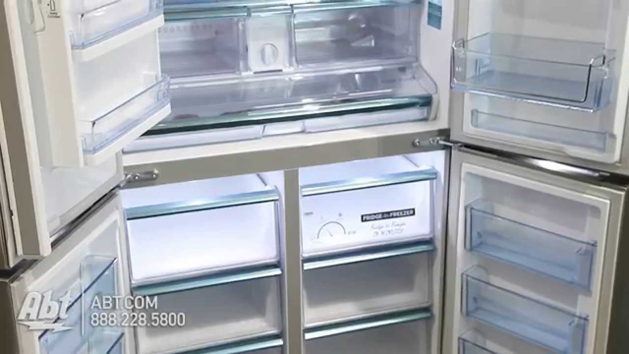 Genial Ft. Stainless Steel Counter Depth French Door Bottom Freezer Refrigerator  RF24J9960S4   YouTube