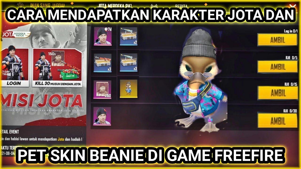 CARA MENDAPATKAN KARAKTER JOTA DAN JUGA PET SKIN GANGSTER BEANIE DI GAME FREEFIRE🇮🇩