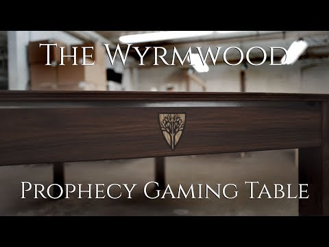 The Wyrmwood Prophecy Gaming Table - YouTube