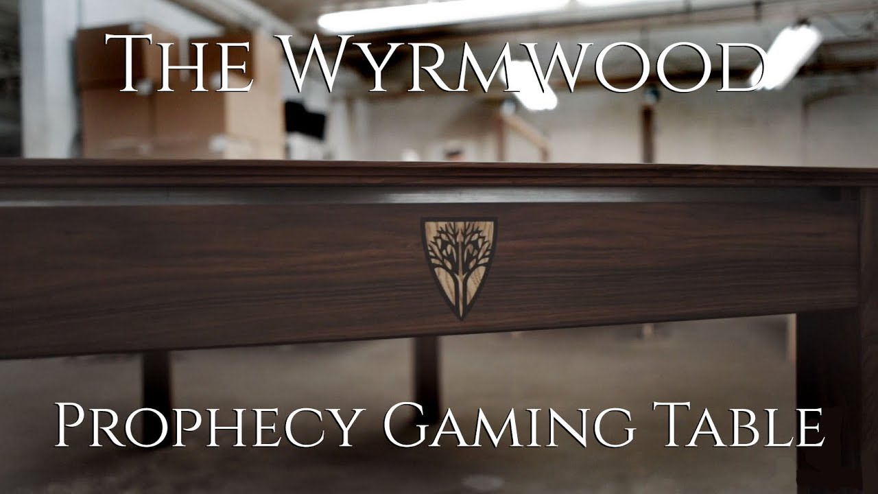 The Wyrmwood Prophecy Gaming Table