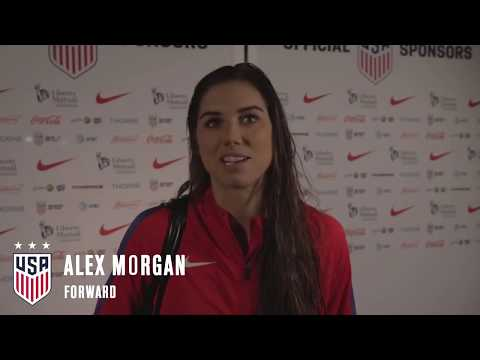 Tobin Heath, Alex Morgan & Christen Press talk Avaya Stadium crowds