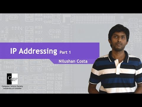 IP Addressing part 1 (In Sinhala)