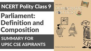 NCERT Political Science for Class 9 - Parliament: Definition and Composition By Charu Modi