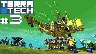 Прохождение TerraTech - Аннигилятор со складом. #3
