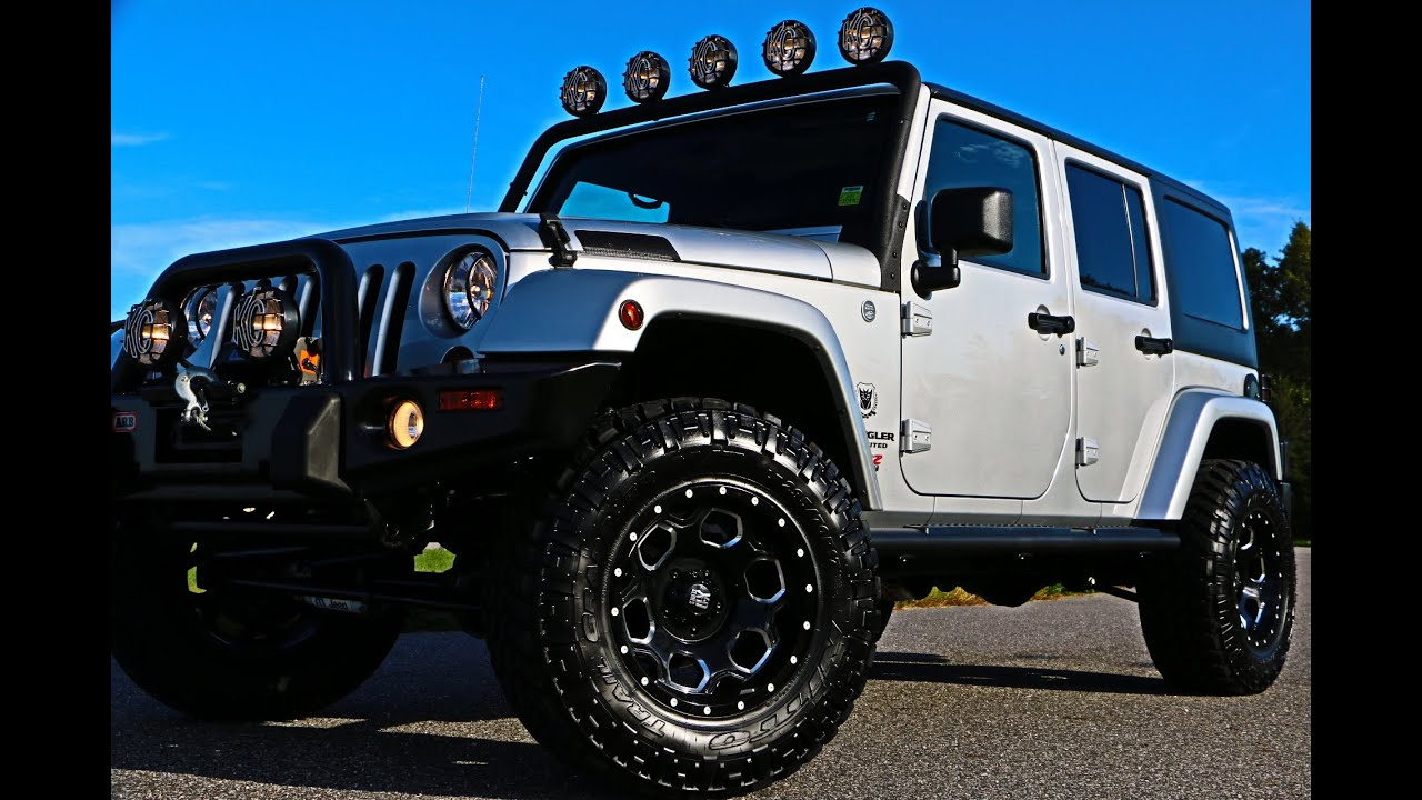 SOLD 2011 Jeep Wrangler Unlimited Sahara 6 4L HEMI For Sale Leather