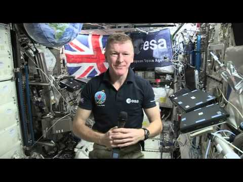 British Astronaut Answers Questions from the Space Station