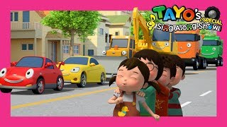 *NEW* Play Safe Song with Tayo l Road Safety Song l Kids Road Safety Song l Tayo Sing Along Special