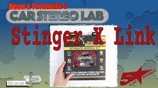 Stinger X  Link fuse block upgrade Car Stereo Lab 13