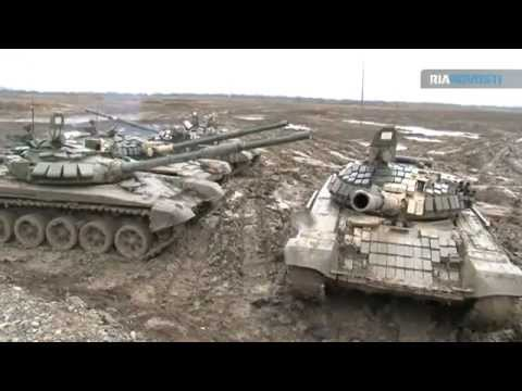 modernized version Russian T-72 BM main battle  tank Russia army armed forces Video RIA Novosti